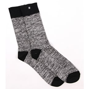 Element Lobby Socks - Black Marble