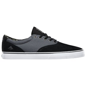 Emerica Provost Slim Vulc Shoes - Black/Grey/White