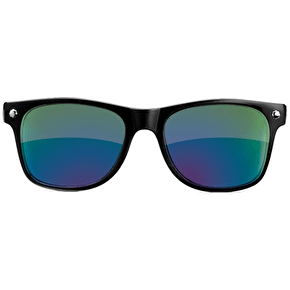 Glassy Sunhaters Leonard - Black/Colour Mirror