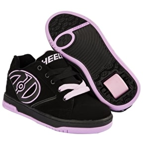 B-Stock Heelys Propel 2.0 - Black/Lilac - UK 7 (Box Damage)
