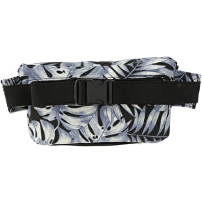 Mi-Pac Tropical Leaf Slim Bum Bag - Grey