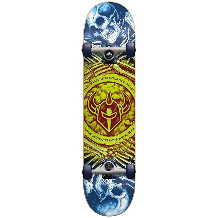 "Darkstar Remains Complete Skateboard 7.75"" - Lime"