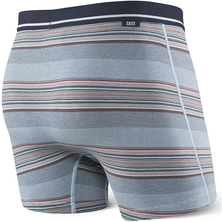 Saxx 3Six Five Boxers - Navy Rugby Stripe
