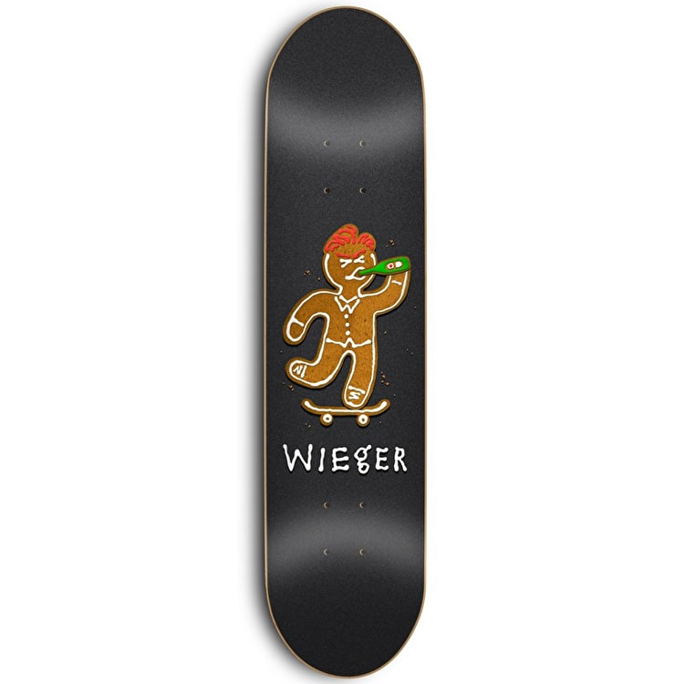 Skate Mental Wieger Ginger Bread Skateboard Deck 8.25""
