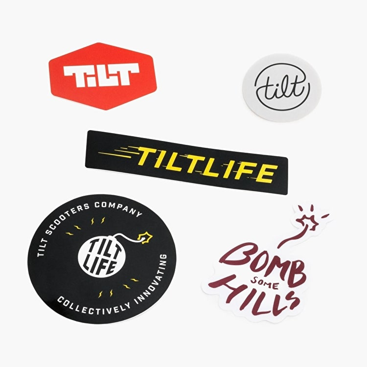Tilt Scooters Sticker Pack