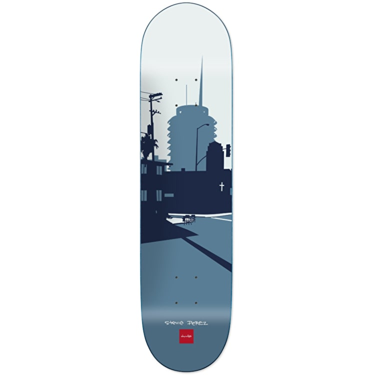 Chocolate The City Series Skateboard Deck - Perez 8.375""