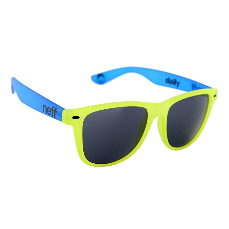 Neff Daily Sunglasses - Yellow/Blue