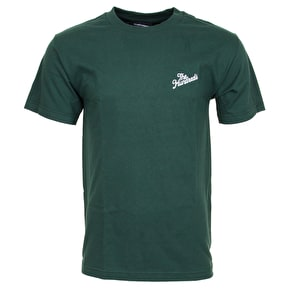 The Hundreds Forever Slant Crest T-Shirt - Forest