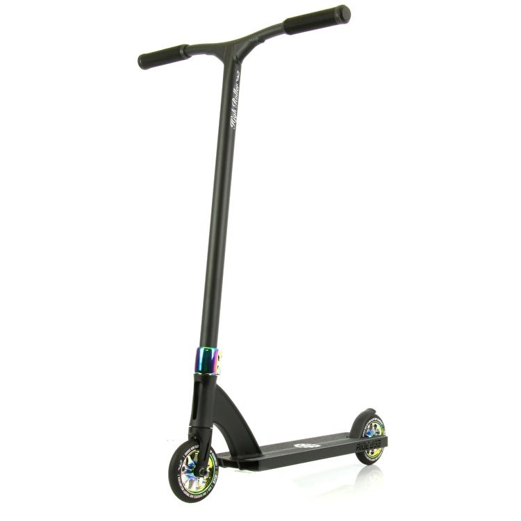 Ride 858 High Roller Complete Scooter - Neochrome/Matte Black