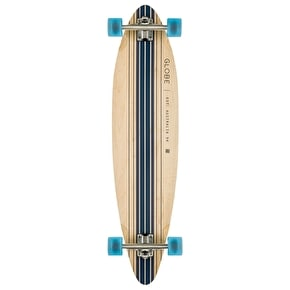 Globe Pinner Complete Longboard - Natural / Blue 41.25