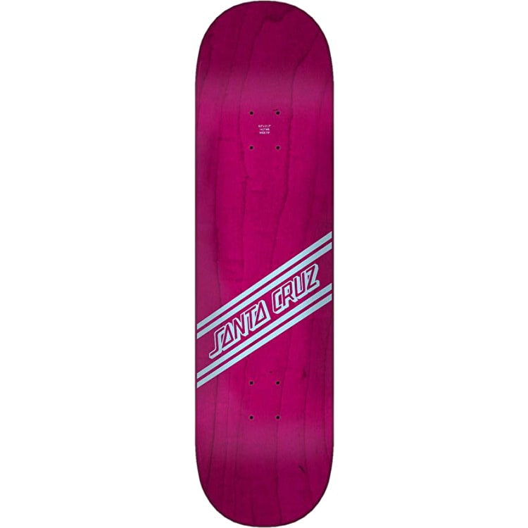 Santa Cruz Street Skate Wide Tip Skateboard Deck - Blue/Purple 8""