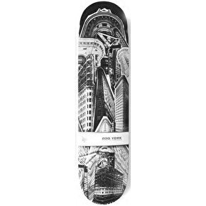Zoo York Made In America Skateboard Deck - Flatiron 8.25