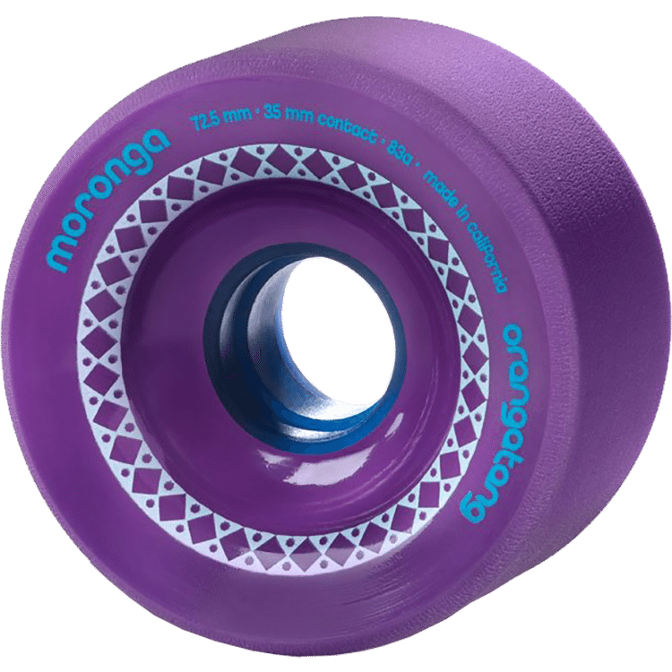 Orangatang Moronga 72.5mm Longboard Wheels - Purple (Pack of 4)
