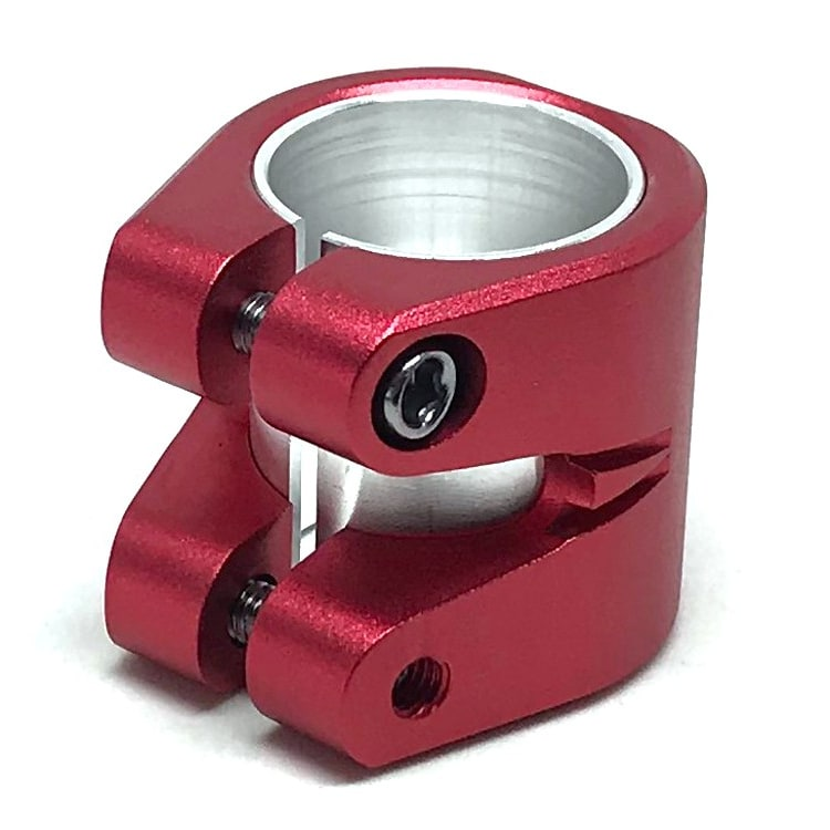 Striker Essence Double Collar Clamp - Red