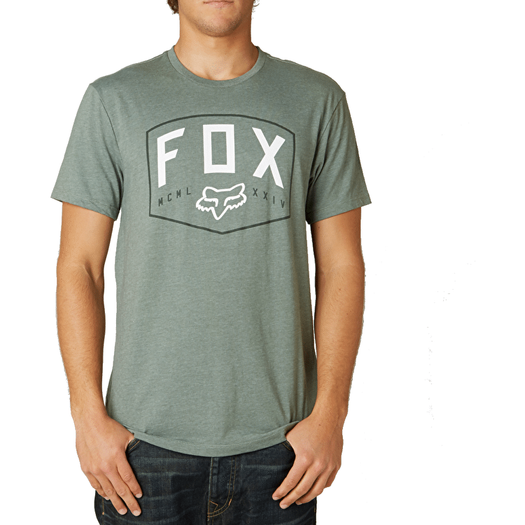 Fox Loop Out Premium T-Shirt - Sage