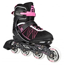 Skatelife Lava Adjustable Inline Skates - Pink/Black