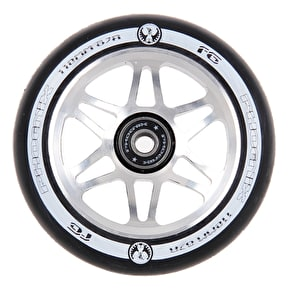 Phoenix 110mm 6 Spoke F6 Scooter Wheel - Black/Black
