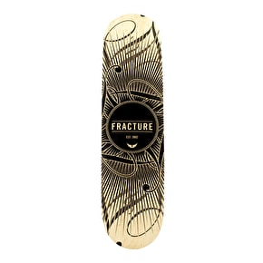 Fracture Skateboard Deck - DB15 Black 8