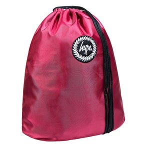 Hype Crest Gym Bag - Burgundy