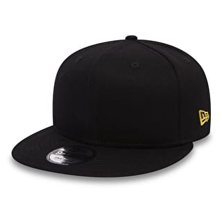 New Era 9FIFTY NE Flag Cap - Black/Yellow