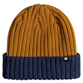 DC Fish N Destroy Beanie - Washed Indigo