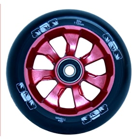 Blunt 7 Spoke 110mm Metal Core Wheel - Red / Black