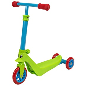 B-Stock Zycom Zykster 2 In 1 Scooter - Lime/Blue/Red (Box Damage)