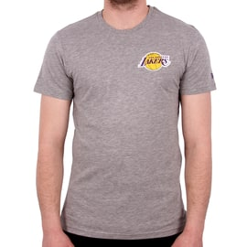 New Era NBA LA Lakers Tip Off Chest N Back T-Shirt - Grey