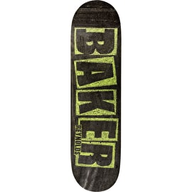 Baker Brand Name Chalk Reynolds Skateboard Deck - 7.75