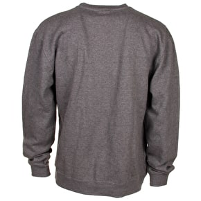 DGK 94 Crewneck Sweater - Grey Heather