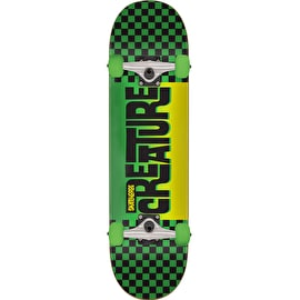 Creature Kustom Checker Complete Skateboard - 7.25