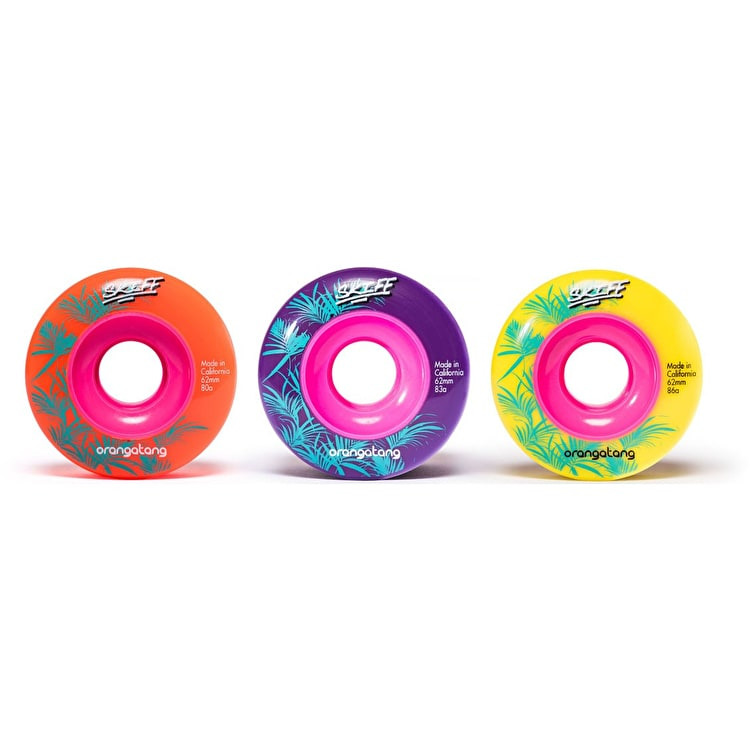 Orangatang Skiff Slasher 62mm Longboard Wheels (Pack Of 4)