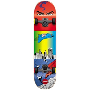 Almost Superman Flight Youth Complete Skateboard - Red/Blue 7