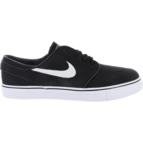 Nike SB Stefan Janoski Canvas Shoes - Black/White/Gum