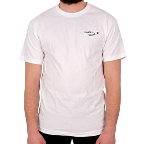 Lakai The Flare T-Shirt - White