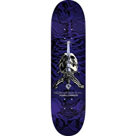 Powell Peralta Ray Rodriguez Skull & Sword Skateboard Deck - Purple 8.5