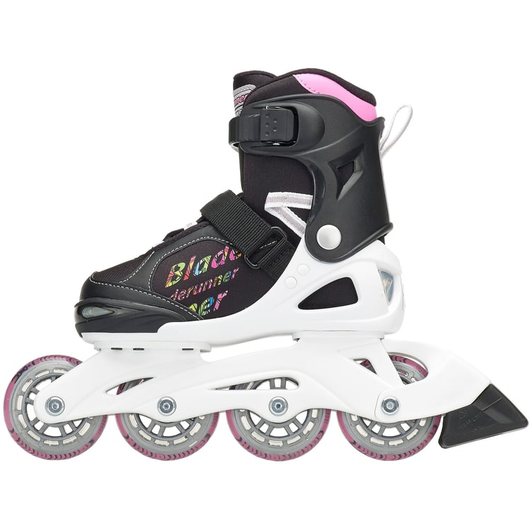 Bladerunner 2018 Phaser Flash Adjustable Inline Skates - Black/Multi