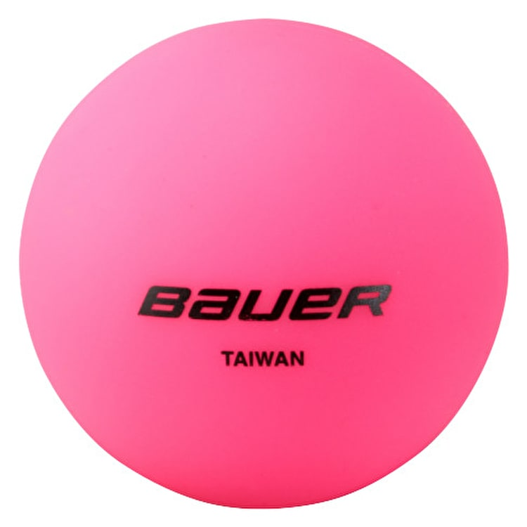 Bauer HydroG Cool Weather Hockey Ball - Pink
