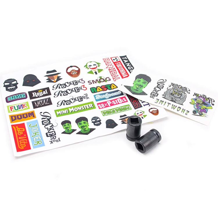 Rocker Peg Kit with Tattoos