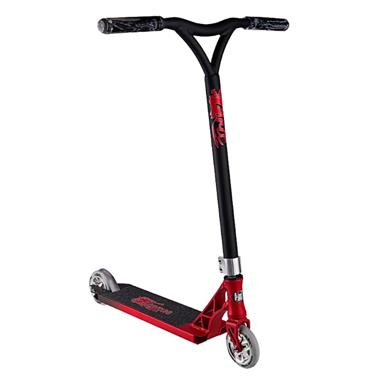 Grit 2017 Tremor Complete Scooter - Satin Red/Grey