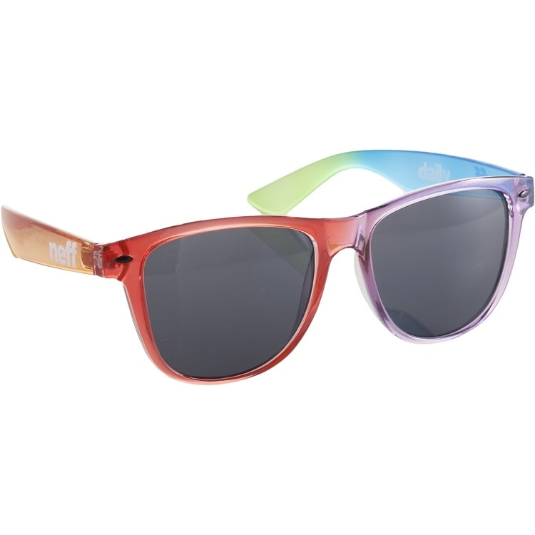 Neff Daily Sunglasses - Clear Rainbow