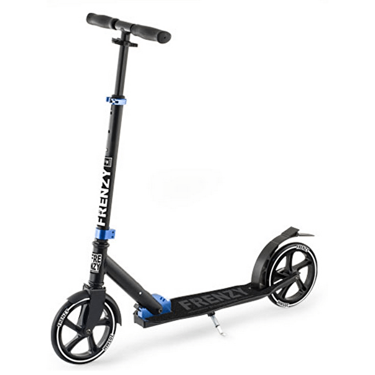Frenzy 205mm Folding Scooter - Black