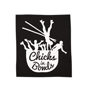 Chicks in Bowls Pack Patch