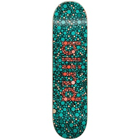 Blind Colour Blind RHM Skateboard Deck - Teal 8.25