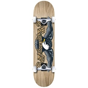 Anti Hero Woodgrain Complete Skateboard - Natural 8