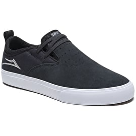 Lakai Riley Hawk 2 Skate Shoes - Charcoal Suede