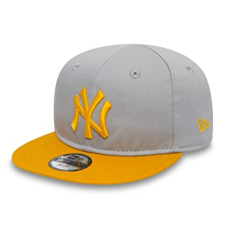 New Era 9Fifty Infant Essential Cap - New York Yankees Grey/Gold