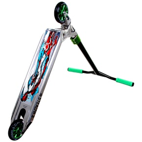 AO Stealth 3 LE I Complete Scooter - Chrome/Green