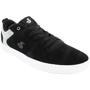 DVS Nica Skate Shoes - Black/Grey Suede