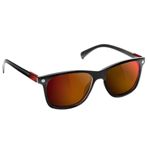 Glassy Sunhaters Biebel Signature - Polarised Black/Red